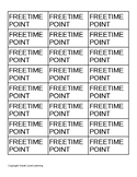 Free Time Points