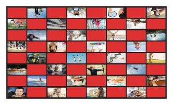 Free Time and Hobbies Legal Size Photo Checkerboard Game