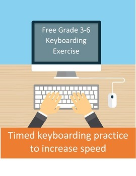 Free Timed keyboarding practice for grade 3-6