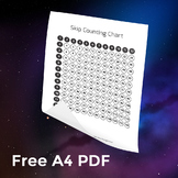 Free Times Tables Grid / Skip Counting Chart