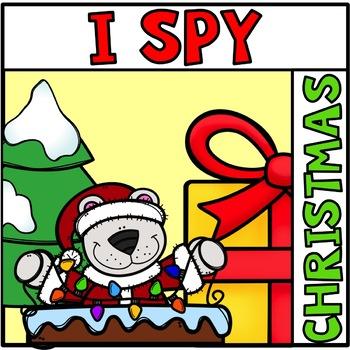 Free Tiny Spelling Word Christmas Hunt