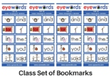 Free TOP 10 High Frequency Words Bookmark - Eyewords