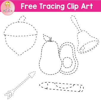 Free Tracing Clip Art