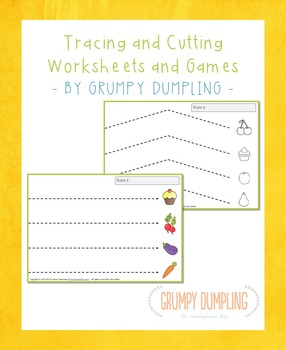Free Tracing and Cutting Activities for Kindergarten
