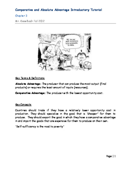 Free Trade Introductory Packet