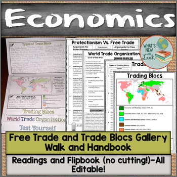 Free Trade and Trade Blocs Gallery Walk and Handbook