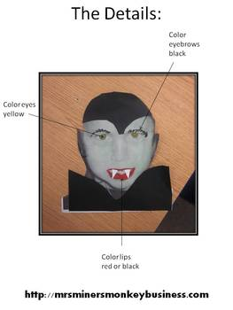 Free Transform Your Students into Dracula: A Halloween Photo Project