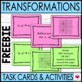 Free Transformations Task Cards