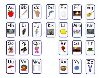 Free Treasures Kindergarten Sound Spelling Cards Mat