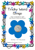 Free Tricky Word/Sight Word Bingo Game - Set 1 - Jolly Phonics