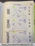 Free Trigonometry (Trig) Foldable