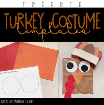 Free Turkey Costume Template