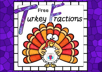 Free Turkey Fraction Set