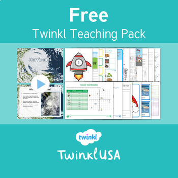 Free Twinkl USA Taster Resource Pack