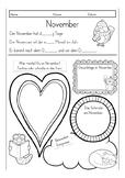 Free! Two pages German worksheets: My favorite activities, Deutsch, Grundschule