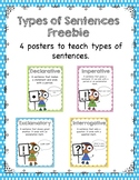 Free Types of Sentences Posters