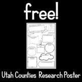 Free!  Utah Counties Research Poster