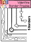 Free Valentine Borders