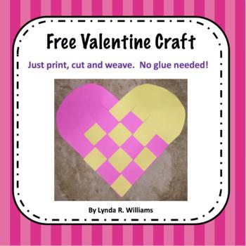 Free Valentine Craft