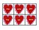 Free Valentine Noun/Verb Sort