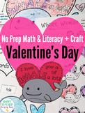 Free Valentine Craft - Whale