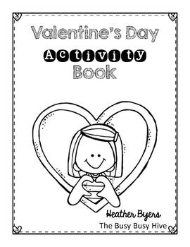 Free Valentine's Day Activity Book
