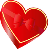 Free Valentine's Day Heart Shaped Box of Chocolates