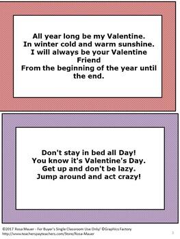 Free Valentine's Day Card Verses
