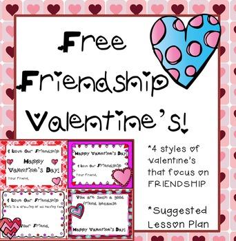 Free Valentine's Day Friendship Cards