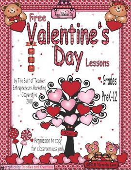 Free Valentine's Day Lessons By The Best of Teacher Entrepreneurs MC - 2018