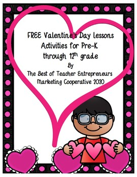 Free Valentine's Day Lessons By The Best of Teacher Entrepreneurs MC - 2020