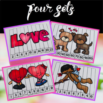 Free Valentine's Day Math Puzzles