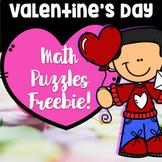Free Valentine's Day Math Puzzles