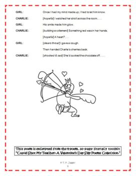 Free Valentine's Day Readers' Theater Poem - Free Poetry - Grades 3-6