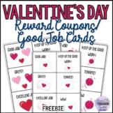 Free Valentine's Day Reward Coupons/Good Job Cards