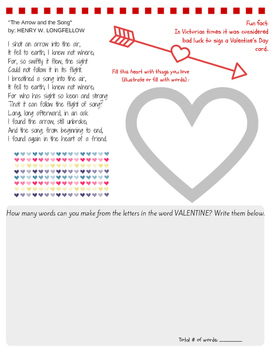 Free! Valentine's day printable from Packet (see link in description!)