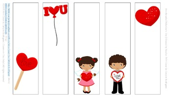 Free | Valentine's Day Bookmarks