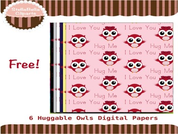 Free Valentine's Day Digital Papers