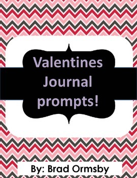 Free Valentines Day Journal Prompts!