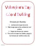 Free Valentine's Day Word Building Center Activity
