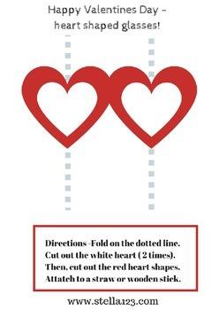 Free Valentine's Day activity pack