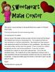 Free Valentines Math Center