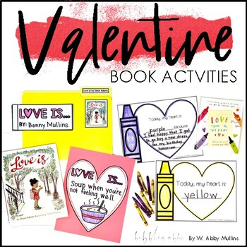 Free Valentines Picture Book Activities