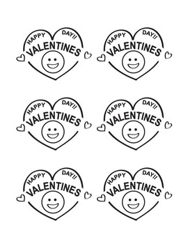 Free Valentines to Print for Students