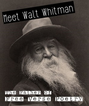 """Free Verse Poetry: Walt Whitman's """"The Rich Givers"""""""