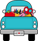 Free Vintage Truck Clipart - Free School Supplies Clipart