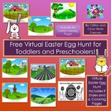 Free Virtual Easter Egg Hunt For Toddlers and Preschoolers!