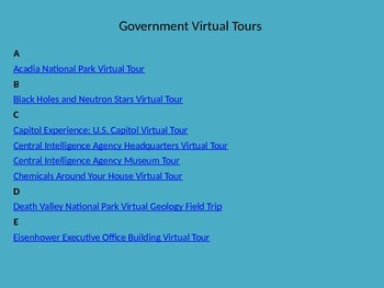 Free Virtual Tour