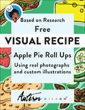 Free Visual Recipe: Apple Pie Roll Ups: Autism:Special Ed Daily Living Cooking