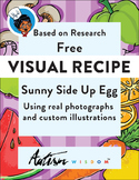 Visual Recipe: Sunny Side Up Egg: Autism:Special Ed Daily Living Cooking